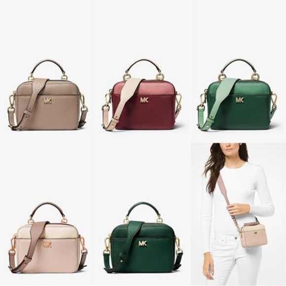 f25cd25faa72 Michael Kors Bags   Mott Mini Colorblock Pebbled Leather   Poshmark